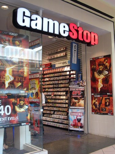 Trading in game systems at gamestop