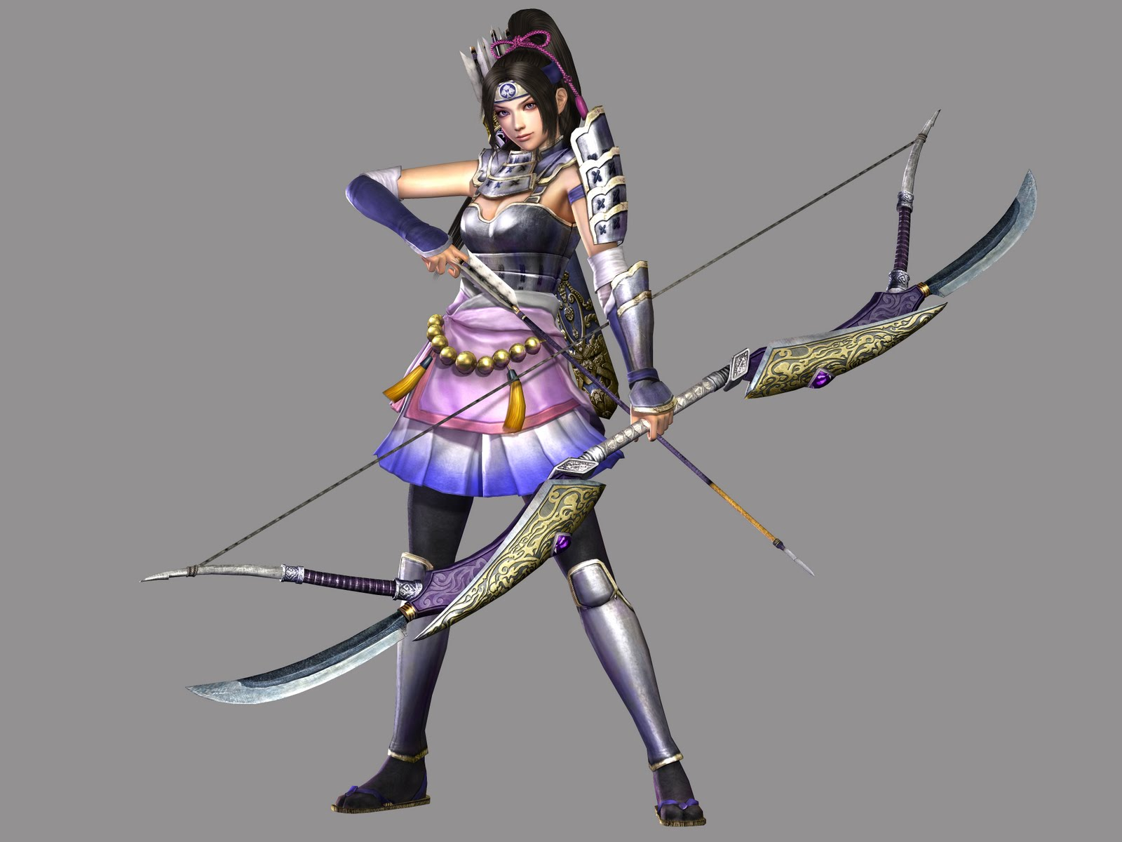 Samurai Warriors 3 Character Art