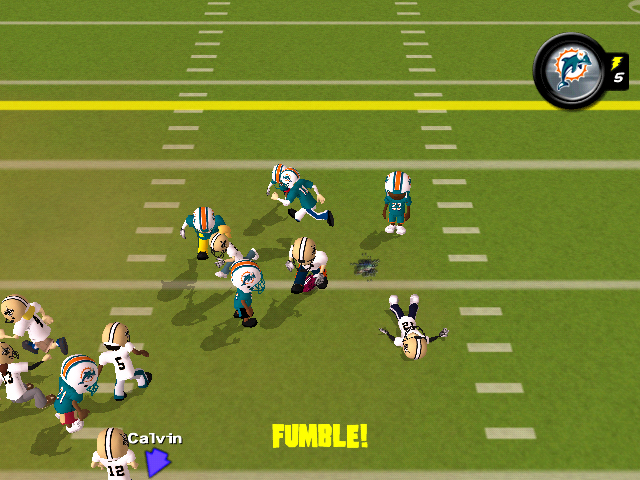 Biggest Backyard Football Hits : BackyardFootball2010WiiScreenshots25320Fumble