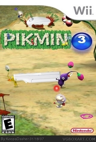 Pikmin 3 should be coming