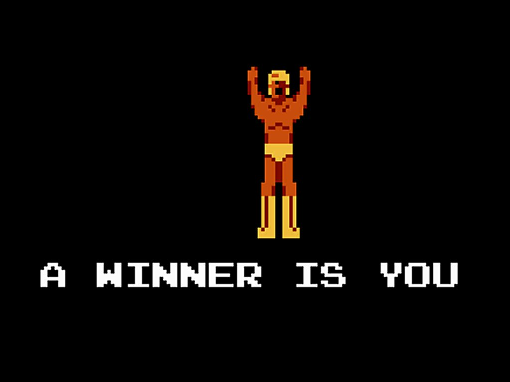 you win video game