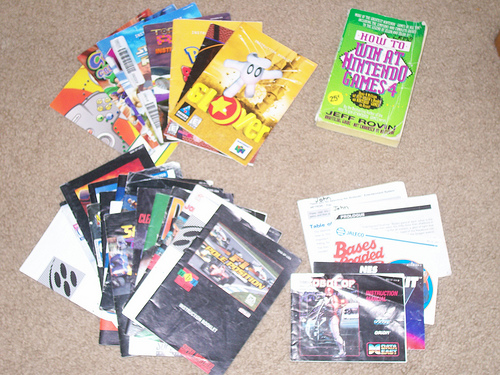 the end of the manual nintendo okie rh nintendo okie com Video Game Manual Art Disney Video Games Manuals