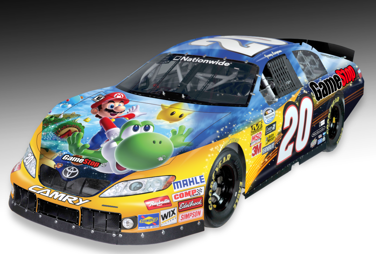 Mario is no Stranger to a Race