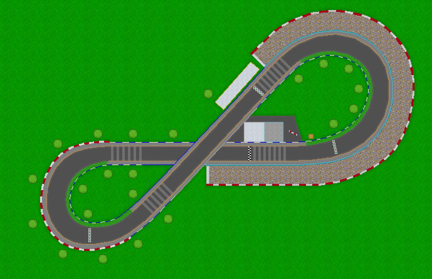 Mario Car Race Track