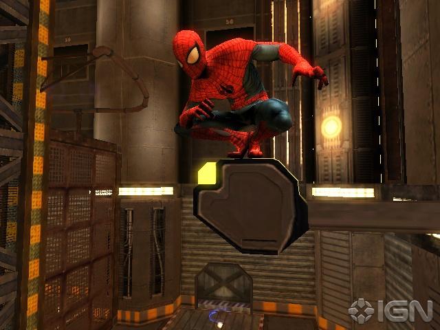 Sala de experimentación de la base secreta de Siniestro en la Luna Spider-man-edge-of-time-screen-3