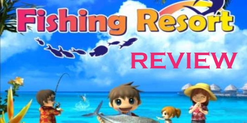 Fishing resort review wii nintendo okie for Wii u fishing game