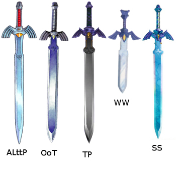 A Friend Of Mine Sent Me This Picture Last Night And I Thought It Was Kinda Cool Shows The Design Master Sword In All Most Recent 3D Zelda