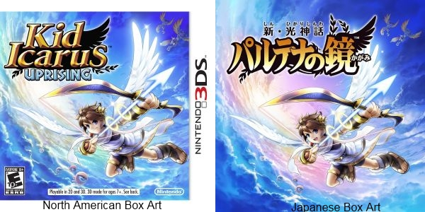 The Official Kid Icarus Uprising Box Art