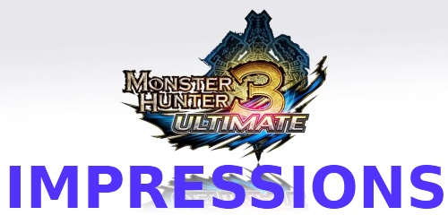 Monster Hunter 3 Ultimate Impressions Logo