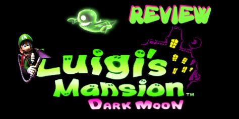 Luigis Mansion Review Logo
