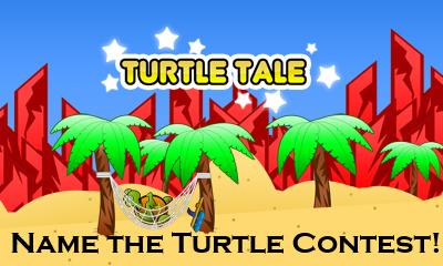 Name the Turtle Contest Logo