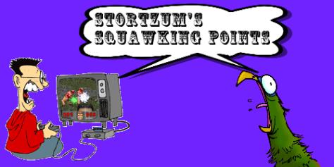 Squawkin Points Logo