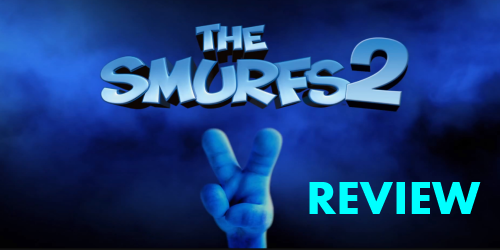 Smurfs 2 review logo