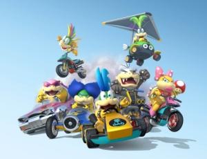 Mario Kart 8 Koopalings