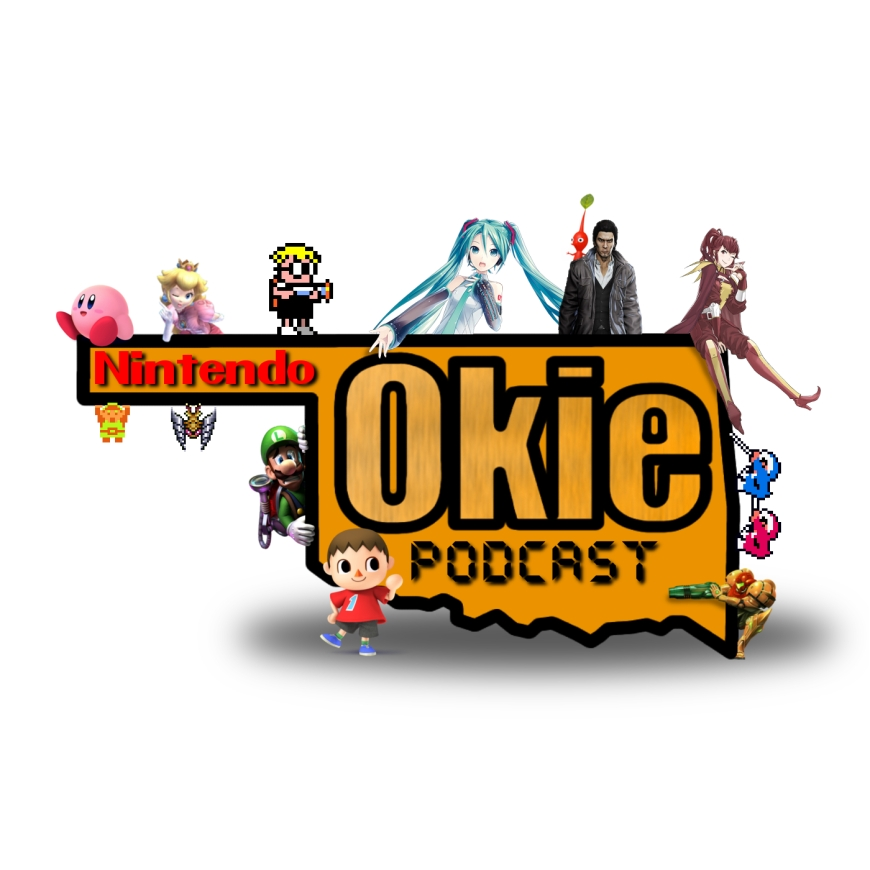 New Nintendo Okie Podcast Logo