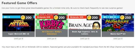 May Club Nintendo Rewards