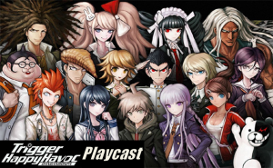 Danganronpa Playcast Logo
