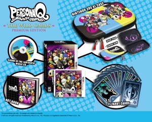 Persona Q Collectors Edition
