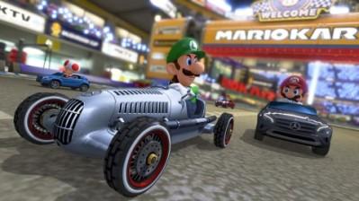 Mario Kart Mercedes