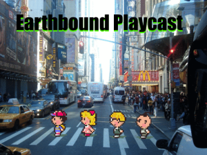 Earthbound Playcast Logo