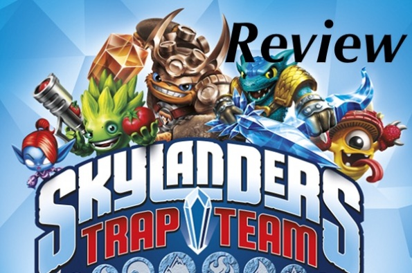 Skylanders Trap Team Review Logo