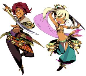 Etrian Myster Dungeon Dancers