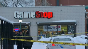 Gamestop Crime Scene
