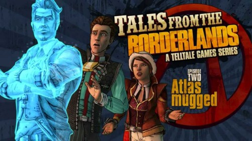 Tales from the Borderlands Episode 2 Logo