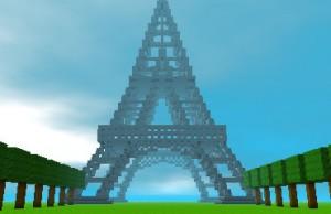 Cube Creator 3D Eiffel Tower