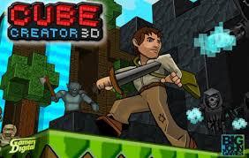 Cube Creator 3D Logo
