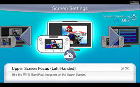 DS Upper Screen Focus
