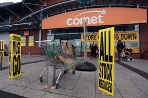 Comet stores closing