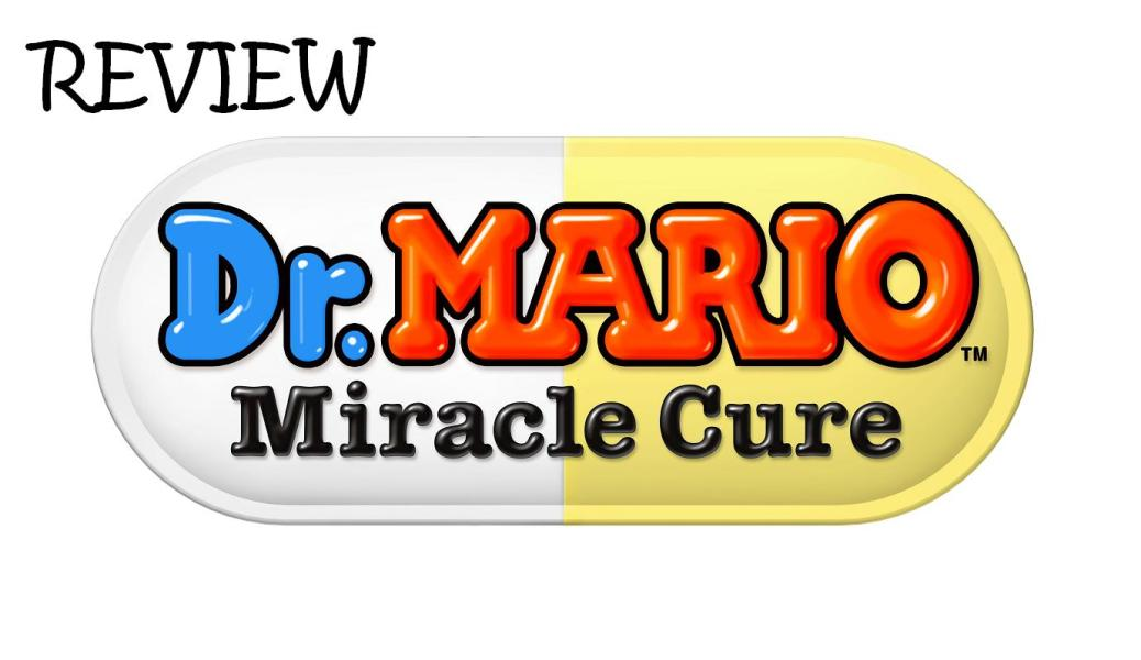 Dr Mario Miracle Cure Logo