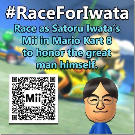 #RaceForIwata
