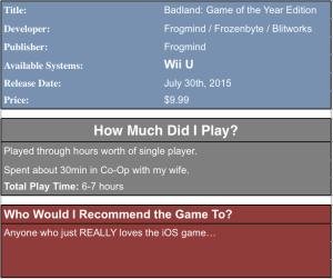Badland:goty Review Box