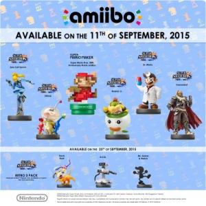 September amiibo