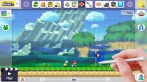 Mario Maker Flag