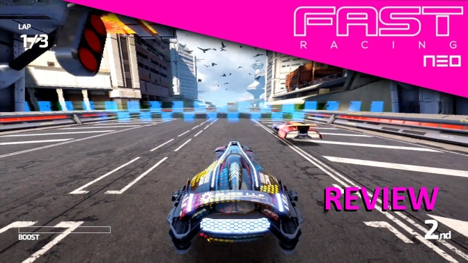 Fast Racing Neo Review (Wii U)