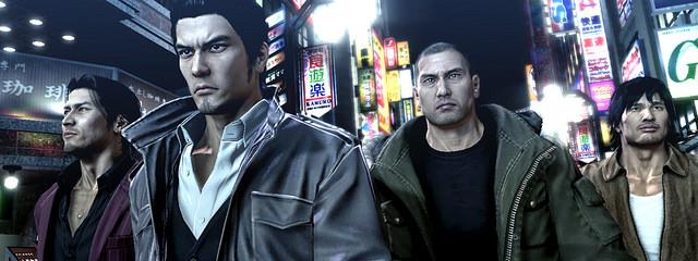 Yakuza 5 Cast