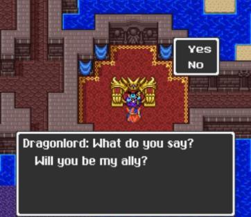 Dragon Quest 1 Ending