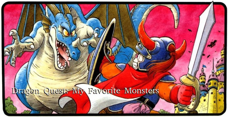 Dragon Quest Art