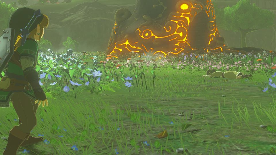 Breath of the Wild Magda Falls Over