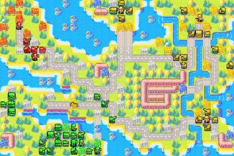 Advance Wars Map