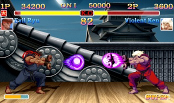ultra street fighter II 1