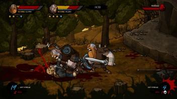 Wulverblade Execution